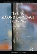 Testing Second Language Speaking