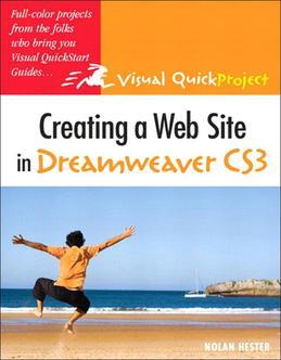 Creating a Web Site in Dreamweaver CS3: Visual QuickProject Guide, Adobe Reader