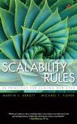 Scalability Rules: 50 Principles for Scaling Web Sites