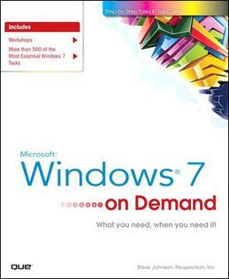 Microsoft Windows 7 on Demand, Portable Documents