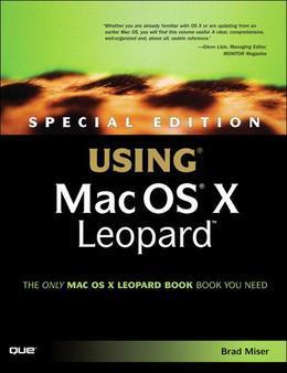 Special Edition Using Mac OS X Leopard (Adobe Reader)