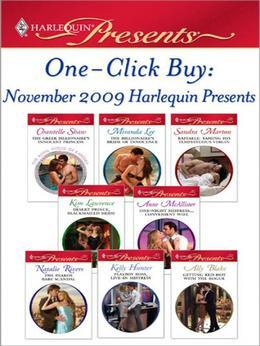 Chantelle Shaw - One-Click Buy: November 2009 Harlequin Presents