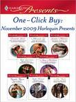 One-Click Buy: November 2009 Harlequin Presents