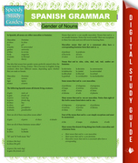 Spanish Grammar (Speedy Study Guides)