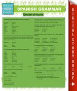 Spanish Grammar (Speedy Study Guides)