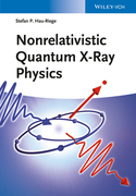 Nonrelativistic Quantum X-Ray Physics
