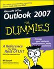 Outlook 2007 for Dummies