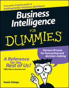 Business Intelligence for Dummies