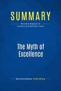 Summary : The Myth of Excellence - Fred Crawford & Ryan Mathews