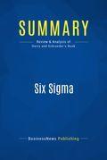 Summary : Six Sigma - Mikel Harry & Richard Schroeder