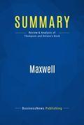 Summary : Maxwell - Peter Thompson And Anthony Delano