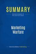 Summary : Marketing Warfare - Al Ries & Jack Trout