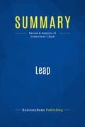 Summary : Leap - Bob Schmetterer