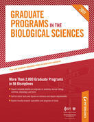 Peterson's Graduate Programs in Genetics, Developmental Biology, & Reproductive Biology; Marine Biology; And Microbiological Sciences: Sections 10-12