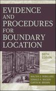 Evidence and Procedures for Boundary Location