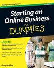 Starting an Online Business For Dummies<sup>®</sup>