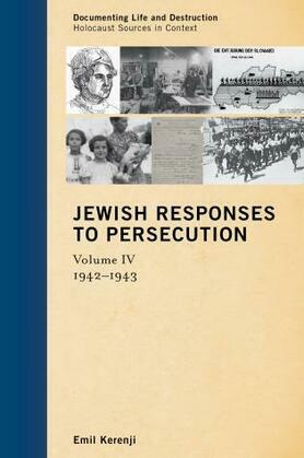 Jewish Responses to Persecution: 1942-1943