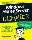 Windows Home Server For Dummies