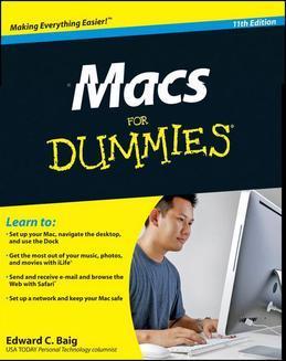 Macs For Dummies<sup>®</sup>