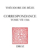 Correspondance. TomeVII, 1566