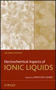 Electrochemical Aspects of Ionic Liquids