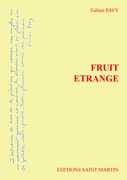 Fruit étrange