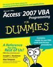 Access 2007 VBA Programming For Dummies