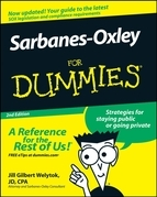 Sarbanes-Oxley for Dummies