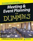 Meeting &amp; Event Planning For Dummies