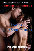 Naughty Pleasures & Desires: Taboo Erotica Volume 3: Erotica - Four Short Stories