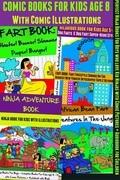 Comic Books For Kids Age 8 - Comic Illustrations - Ninja Books For Boys - Kid Ninjas: 4 In 1 Box Set: Comic Pictures + Audiobook For Children