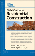 Graphic Standards Field Guide to Residential Construction