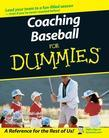 Coaching Baseball For Dummies
