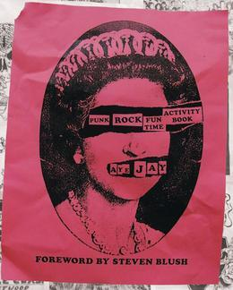 Punk Rock Fun Time Activity Book