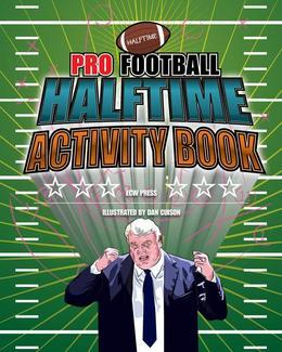 Pro Football Halftime Activity Book
