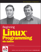 Beginning Linux Programming