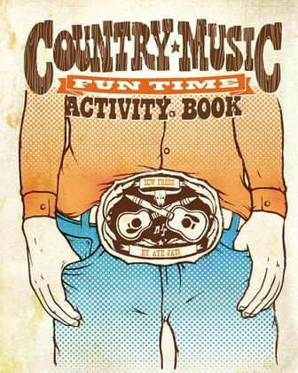 Country Music Fun Time Activity Book
