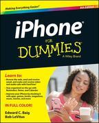 iPhone For Dummies.