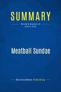 Summary : Meatball Sundae - Seth Godin