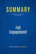 Summary : Full Engagement! - Brian Tracy