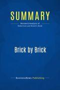 Summary : Brick By Brick - David C. Robertson with Bill Breen