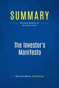 Summary : The investor's Manifesto - William J. Bernstein