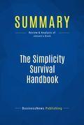 Summary : The Simplicity Survival Handbook - Bill Jensen