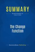 Summary : The Change Function - Pip Coburn