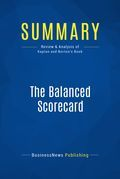 Summary : The Balanced Scorecard - Robert S. Kaplan & David P. Norton