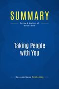 Summary : Taking People With You - David Novak