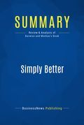 Summary : Simply Better - Patrick Barwise and Sean Meehan