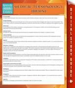 Medical Terminology: Brain (Speedy Study Guides)