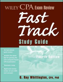 Wiley CPA Exam Review Fast Track Study Guide