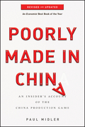 Poorly Made in China: An Insider's Account of the China Production Game